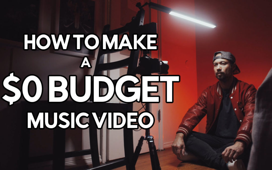 How I used two lights to make a music video